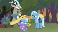 Both Trixies unamused S6E26