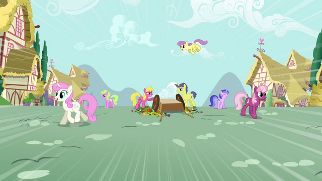 File:Ponies arguing S3E6.png