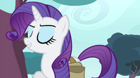 "Rarity ""benefited from my creative vision"" S4E23"