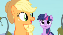 Applejack 'Now you go, Twilight!' S4E07
