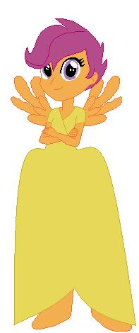 File:FANMADE Scootaloo Human Dress.jpg