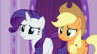 Rarity biting her lower lip S6E10
