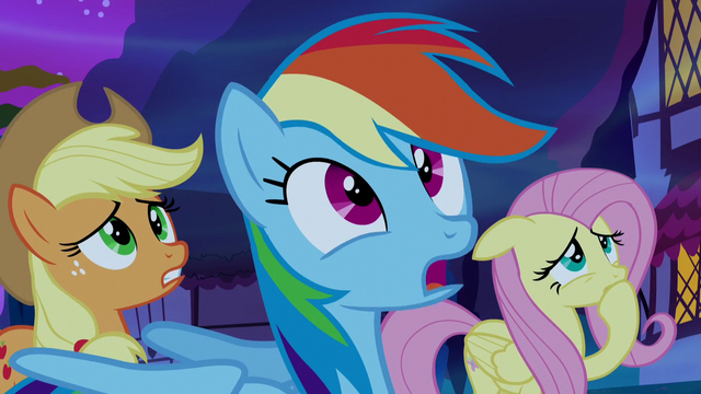 "File:Rainbow Dash ""I think we'll know"" S5E13.png"
