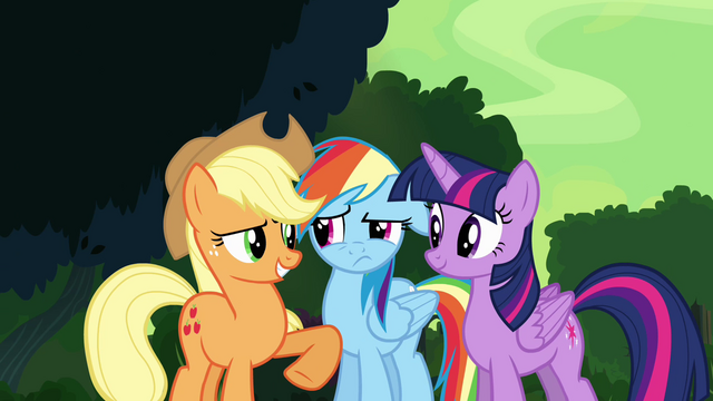 "File:Applejack ""this don't sound like you"" S4E04.png"