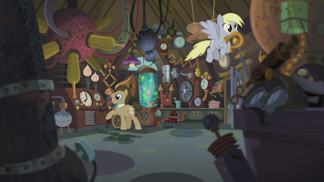 "File:Dr. Hooves ""I was working off a cutting-edge theory"" S5E9.png"
