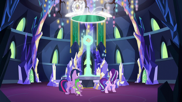 File:Magic beam connecting the scroll with the Cutie Map S5E26.png