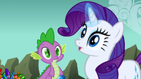 Rarity's surprised face S01E19