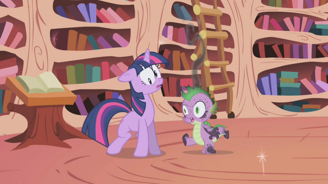 File:Twilight & Spike teleported S1E3.png
