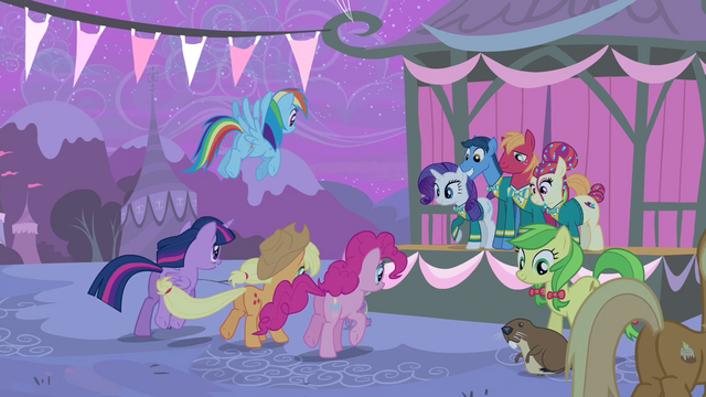 File:Main cast galloping towards the stage S4E14.png