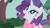 "Rarity ""it's exactly the way I imagined it"" S01E14"