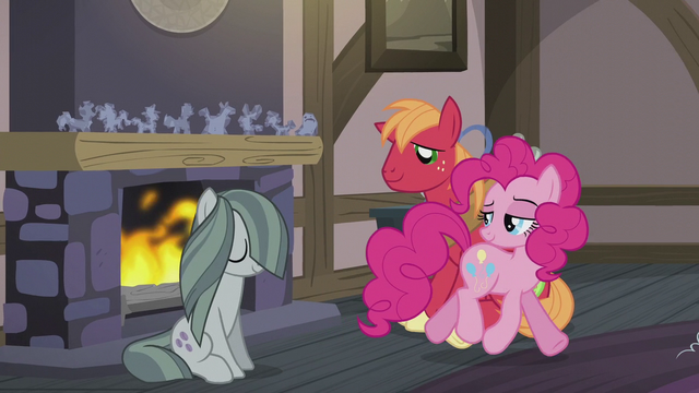 File:Pinkie looking at Big Mac and Marble S5E20.png