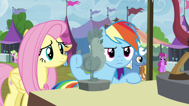 File:Fluttershy and RD return to Discord lamp stall S4E22.png