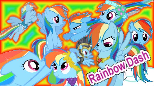 File:FANMADE Rainbow Dash Collage Mewkat14.png
