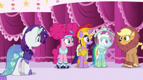 Main five in Nightmare Night costume S5E21