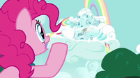Pinkie Pie calling out to Rainbow Dash S6E15