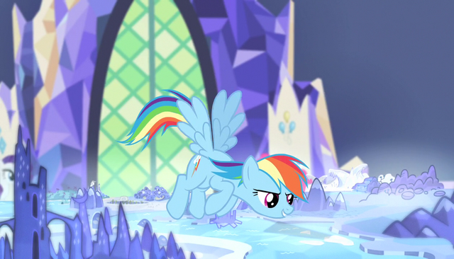 "File:Rainbow Dash ""there's a ton of room"" S5E01.png"