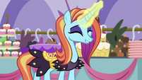 "Sassy ""everypony here loves royalty!"" S5E14"