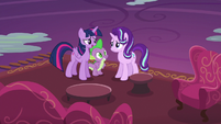 "Twilight Sparkle ""pretty advanced friendship lesson"" S6E21"