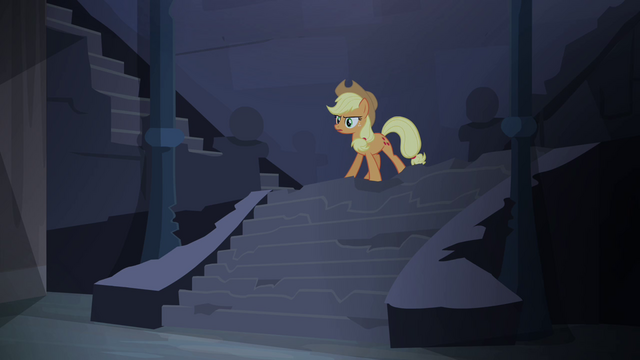 "File:Applejack ""an ancient legend"" S4E03.png"
