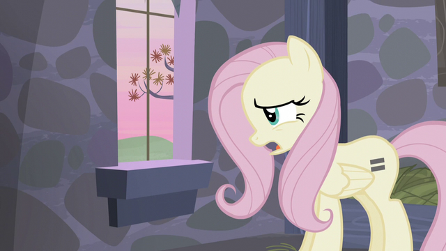 """File:Fluttershy """"even tweets don't make sense any more!"""" S5E02.png"""