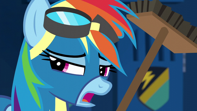 "File:Rainbow repeats ""my name's not Crash"" S6E7.png"