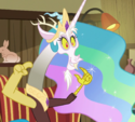 Discord as Princess Celestia ID S6E17