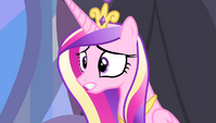 "Princess Cadance ""what's wrong?"" S4E24"
