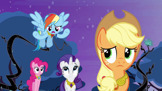 "File:Rainbow Dash ""whatever Twilight saw"" S4E02.png"