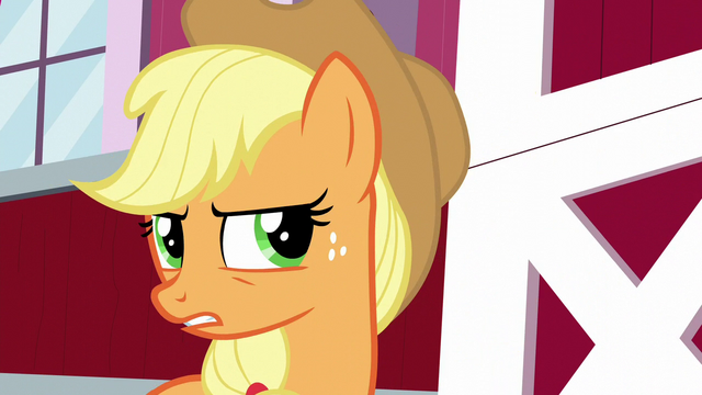 "File:Applejack ""it just ain't right!"" S5E24.png"