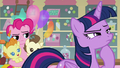 Pinkie annoyed that Twilight is taking so long S5E19.png