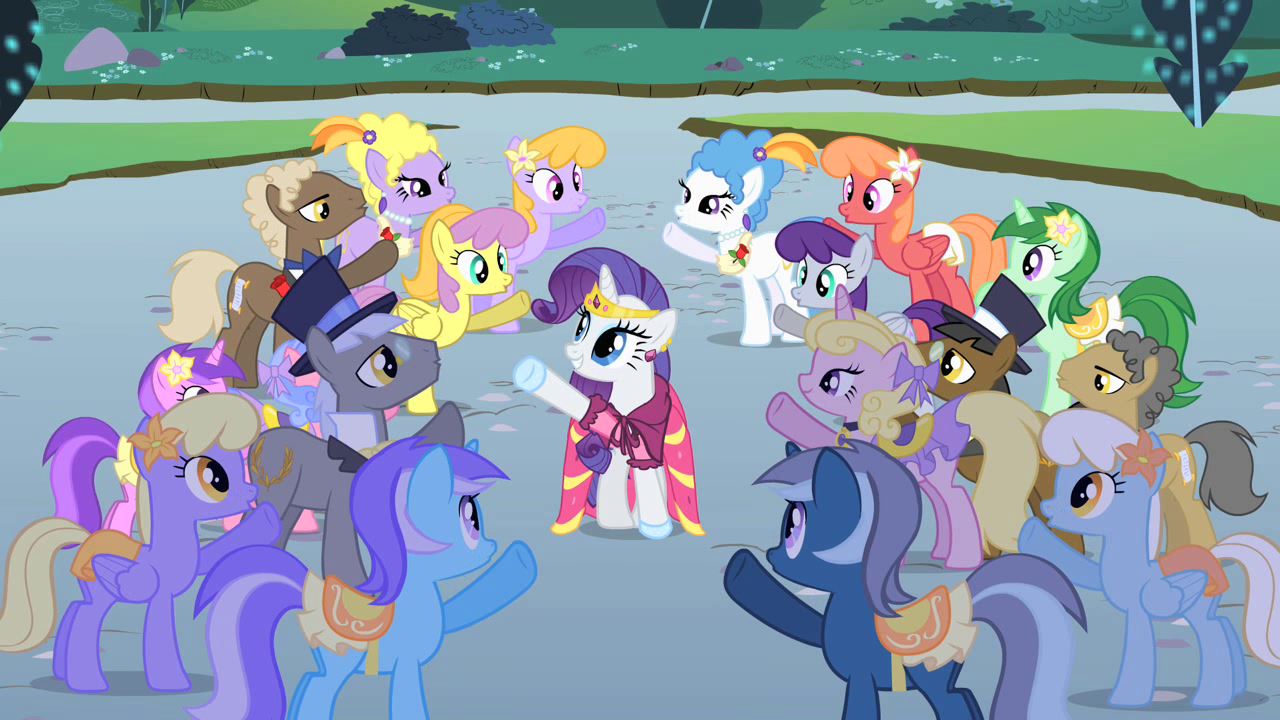 My little pony friendship is magic coloring pages best night ever - Rarity Ends Her Solo S1e26