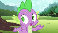 """Spike """"probably the most beautiful birdhouse"""" S4E23"""