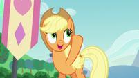 Applejack describes Coloratura's cutie mark S5E24