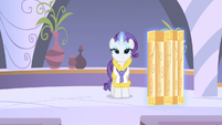 Rarity smirk of coolness S1E20