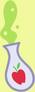 Apple Bloom potion cutie mark crop S5E4