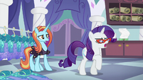 "Rarity ""I'm closing Canterlot Carousel!"" S5E14"