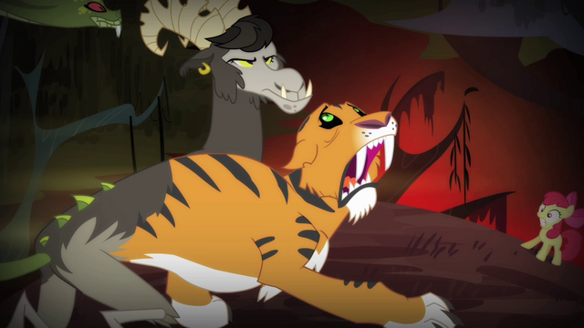 File:Chimera tiger head groaning S4E17.png
