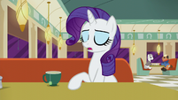 "Rarity ""Turns out there's a Club Pony Party Palace..."" S6E9"