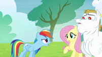 Rainbow 'maybe you can learn something' S4E10