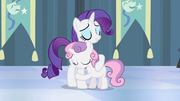 Rarity and Sweetie Belle hugging S4E19.png
