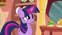 Twilight Sparkle horn aura S2E16