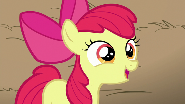 File:Apple Bloom compliments AJ as being funny S5E17.png
