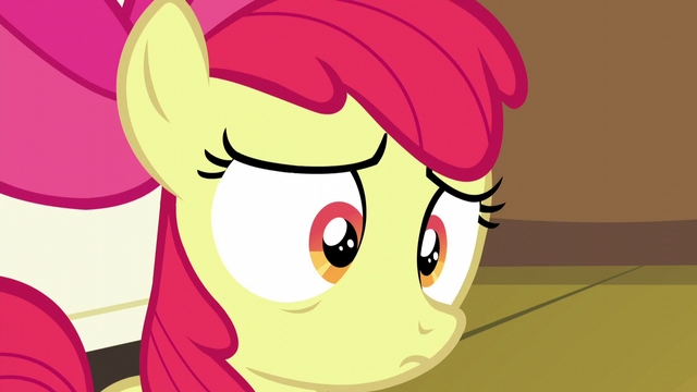File:Apple Bloom hears she got her cutie mark again S5E4.png