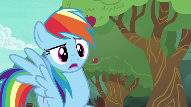 "File:Rainbow Dash ""distance bucking?"" S6E18.png"