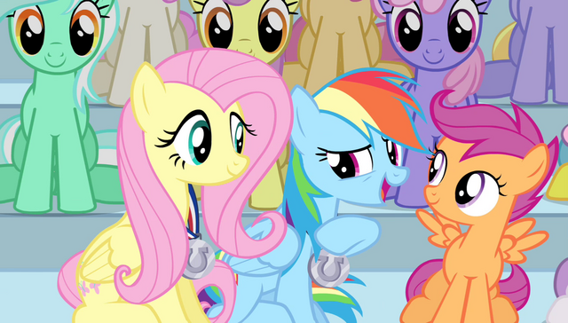 "File:Rainbow Dash ""wonder which medal that was?"" S4E24.png"