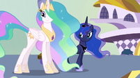 Celestia and Luna side by side S4E02