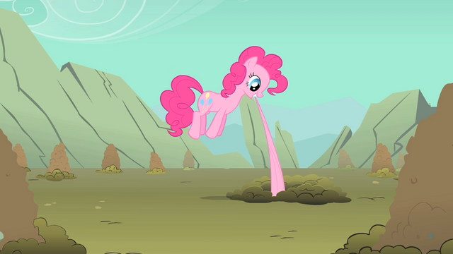 File:Pinkie Pie biting Fluttershy's tail S1E19.png
