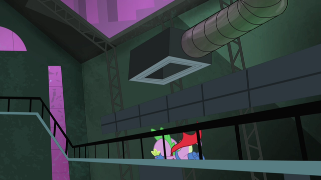 File:Spike falling off of the vent S4E06.png