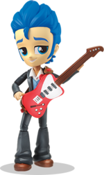Equestria Girls Minis Flash Sentry promo image