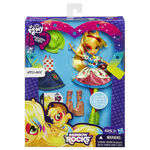 Applejack Equestria Girls Rainbow Rocks fashion set packaging